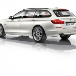 2015 BMW 5 SERIES TOURING white color