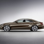 2015 MERCEDES CLS brown