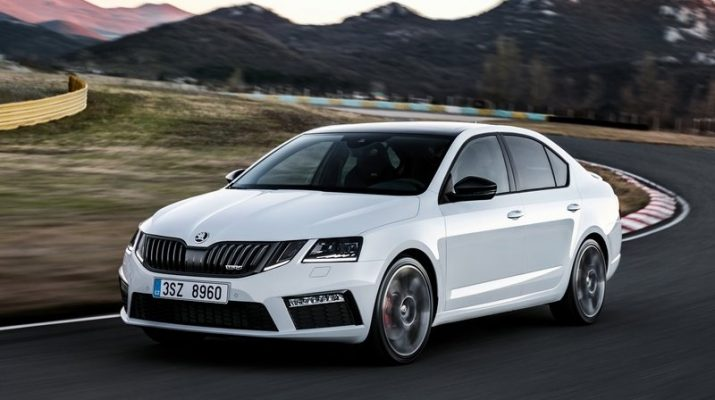 2018 skoda octavia rs oopscars. Black Bedroom Furniture Sets. Home Design Ideas