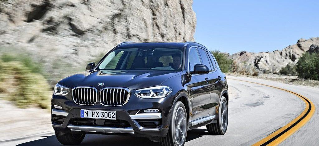 Yeni yüzüyle 2018 BMW X3