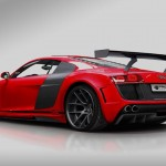 Red AUDI R8 Tuning by PRIOR DESIGN