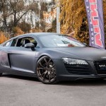 Matte Black AUDI R8 tuned by VILNER