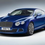 BENTLEY CONTINENTAL GT SPEED Blue