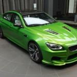 BMW M6  by ABU DHABI MOTORS – Individual Java Green