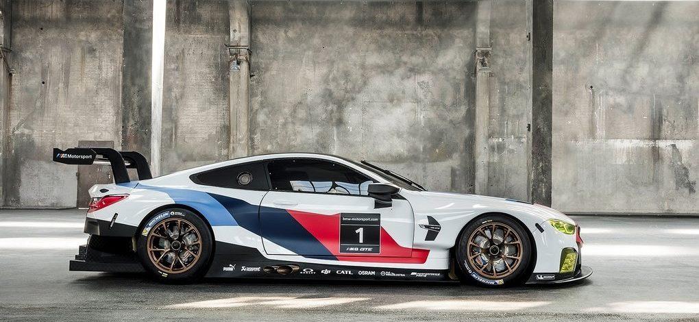 BMW M8 GTE RACECAR