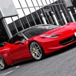 FERRARI 458 KAHN DESIGN tuned Red&Gray color