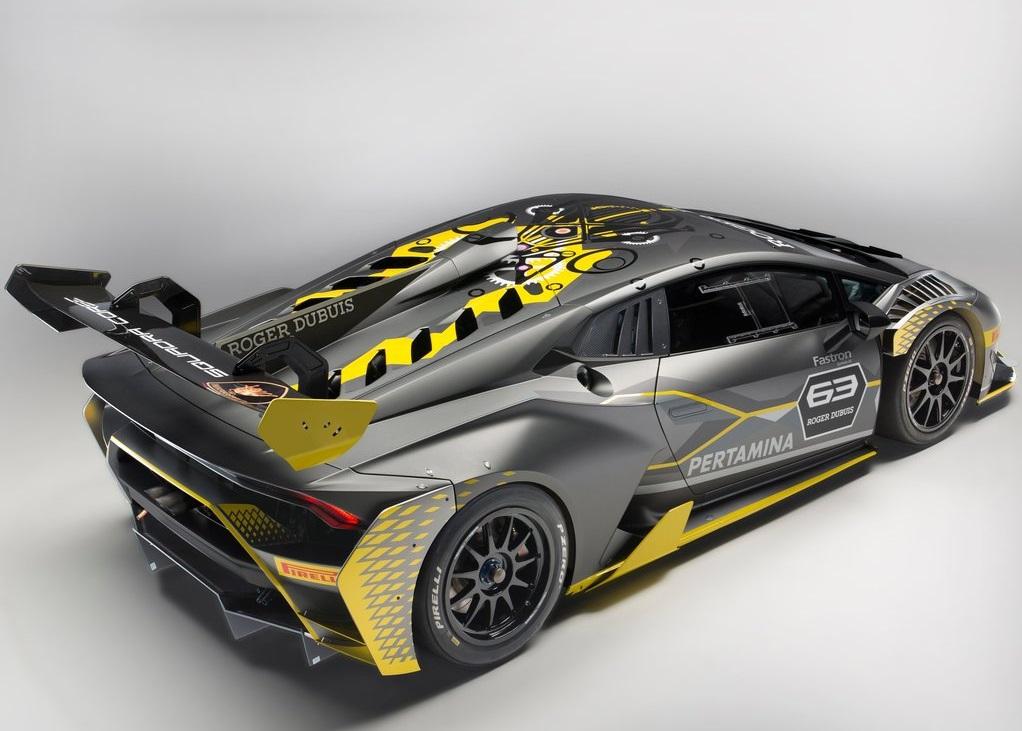 LAMBORGHINI HURACAN SUPER TROFEO EVO Race Car
