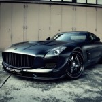 Matte Black MERCEDES SLS Tuning by Kicherer