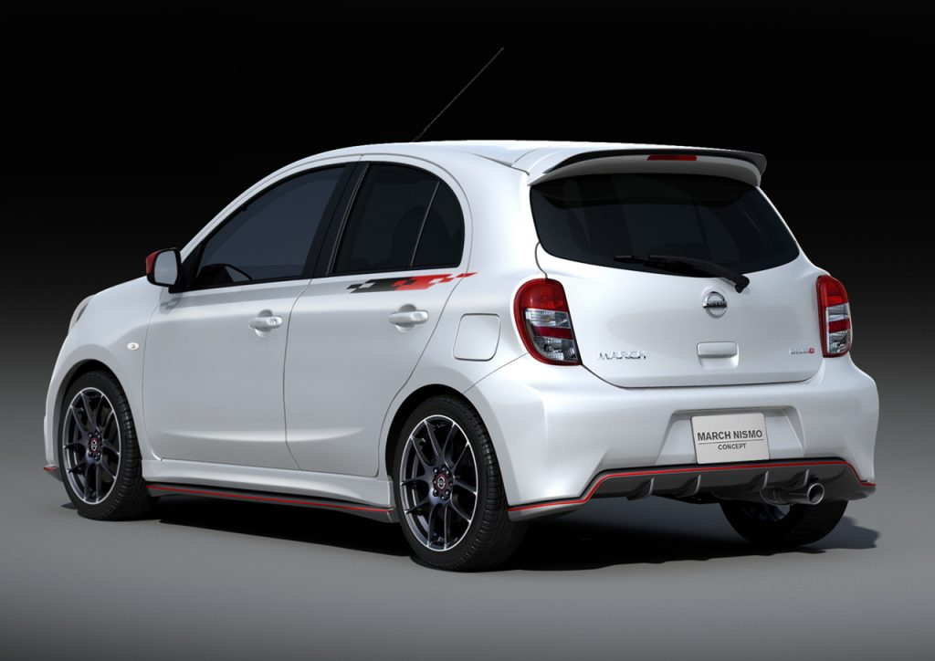 2013 Nissan Micra Nismo Concept March Nismo Oopscars
