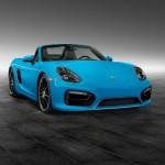 PORSCHE BOXTER-S EXCLUSIVE Riviera Blue