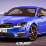 SKODA RS COUPE render by XTOMI DESIGN