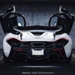 2015 McLaren P1 BLACK & WHITE